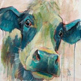 Mevrouw koe