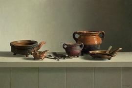 Archeologie uit Oudeschans ± 1600