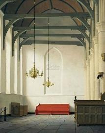 De zuidbeuk van de st.Nicolaaskerk in Monnickendam