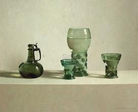 Glas uit collectie Vecht