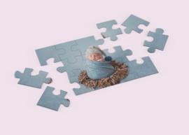 Puzzel met eigen foto, diverse afmetingen