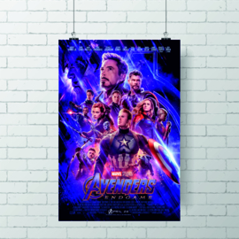 Poster The Avengers Endgame
