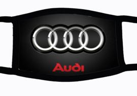 Sublimatie mondkapje met Audi print, in 3 maten
