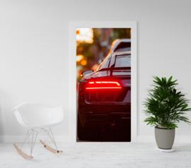 Deurposter - deursticker Audi R8