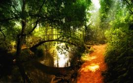 Poster  Bridge over Water