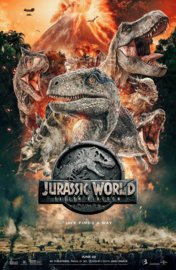 Poster Jurassic World Fallen Kingdom - life finds a way
