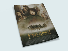 Poster Lord of the Rings - Fellowship of the Rings
