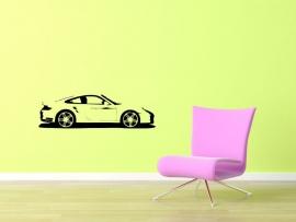 Muursticker Porsche