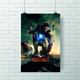 Poster Marvel - Iron man 3 crouching