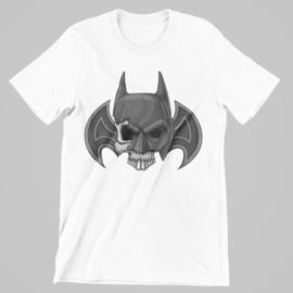 T-shirt wit superhero's - Batman - skull