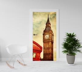 Deurposter - deursticker Londen Big Ben