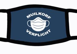 Sublimatie mondkapje Muilkorf verplicht , in 3 maten