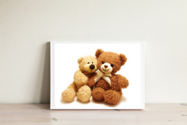 Poster Teddy Love A5 / A4