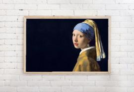 Poster meisje met de Parel - Johannes Vermeer