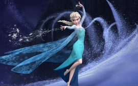 Poster Walt Disney - Frozen Elsa