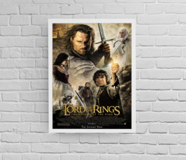 Poster Lord of the Rings - return of the King