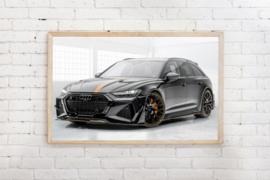 Poster Audi A6 Avant