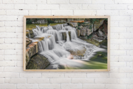 Poster Waterval op plateau