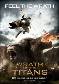 Poster Wrath of the Titans - Feel the Wrath