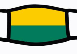 Sublimatie mondkapje met vlag Den Haag