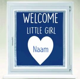 Welcome little Boy of little Girl met naam van kindje