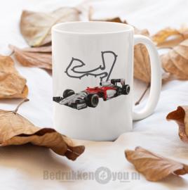 Mok  met afbeelding Formule 1 MacLaren