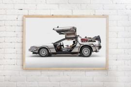 Poster Delorean - Back to the future