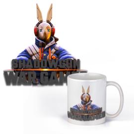 Witte mok - Shadowgun - Wargames