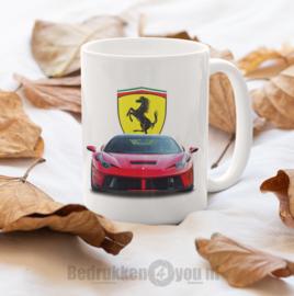 Mok  Ferrari met logo