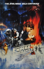 Poster, Star Wars The empire strikes back