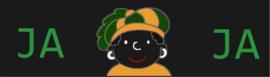Sticker Ja Zwarte Piet Ja