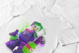 T-shirt wit , Lego DC super Villians