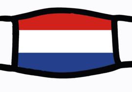 Sublimatie mondkapje met Nederlandse vlag