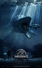 Poster Jurassic World -  the park is open
