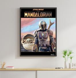 Poster Star Wars - The Mandalorian
