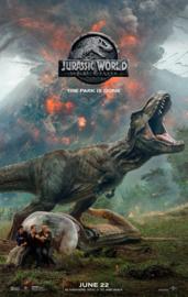 Poster Jurassic World - Fallen kingdom, the park has gone II