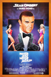 Poster  - filmposter James Bond - Sean Connery - Never say Never again