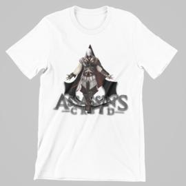 T-shirt wit Assassins grey