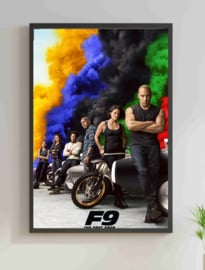 Poster The Fast Saga - F9