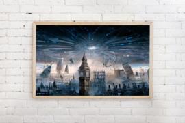 Poster Londen Apocalyps