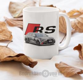 Mok  met afbeelding Audi RS