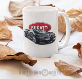 Mok  met afbeelding Bugatti