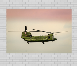 Poster Leger helikopter, Chinook I