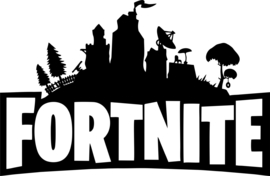 Muursticker Fortnite - 56x35