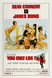 Poster  - filmposter James Bond - Sean Connery - You only live twice