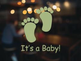 Geboortesticker - It's a Baby!