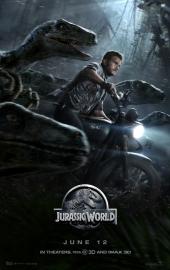 Poster Jurassic World - Bike