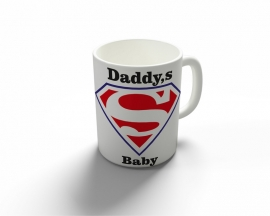 Daddy's super Baby