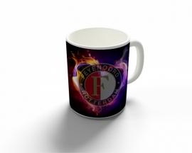 Feyenoord mok vlam