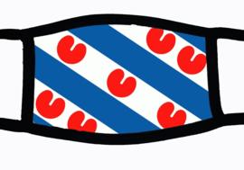 Sublimatie mondkapje met Friese vlag
